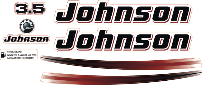 johnson 3.5 Hp Sticker