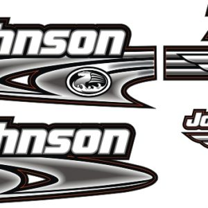 johnson 70 Hp Sticker