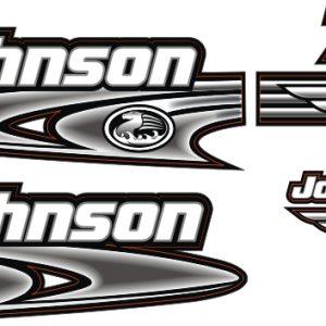johnson 70 Hp Sticker