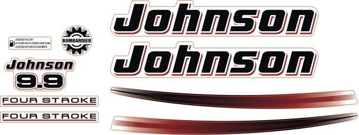 johnson 9.9 Hp outboard motor