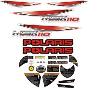 polaris msx 110 kirmizi