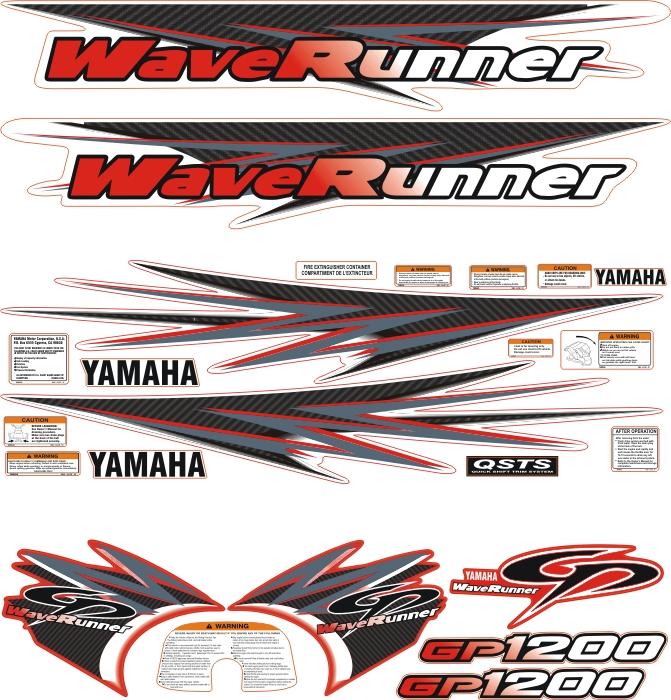 waverunner gp1200 kırmızı